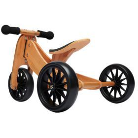 Bamboo Kinderfeets Tiny Tot trike and balance bike - 2 in 1