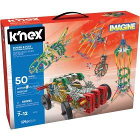 Knex Power and Play 50 Model Motorized Building Set