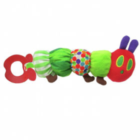 Bunnies By The Bay Teether Caterpillar Teether Rattle