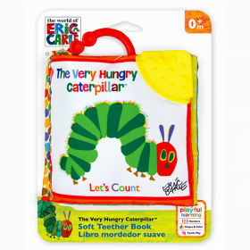 Very Hungry Caterpillar Let'S Count Clip-On Soft Book