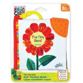 Very Hungry Caterpillar Tiny Seed Clip-On Soft Book
