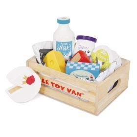 Le Toy Van Cheese & Dairy in a Crate