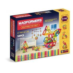 MAGFORMERS My First Magformers Set 54 Pcs