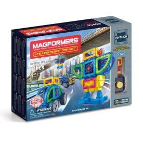 MAGFORMERS Walking Robot Car Set 45