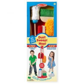 Melissa & Doug Cleaning Kit with Stand 6 pieces