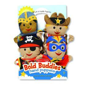 Melissa and Doug Bold Buddies Hand Puppets