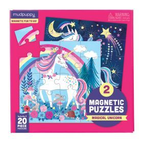 Magnetic Puzzle - Magic Unicorn 20 Pieces