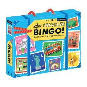 Mudpuppy Game Little Traveller Bingo