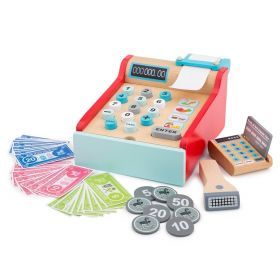 Cash Register with Card Scanner and Pretend Money