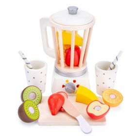 Smoothie Blender with Fruit and Cups