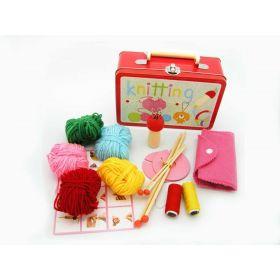 Knitting Kit In Tin Case