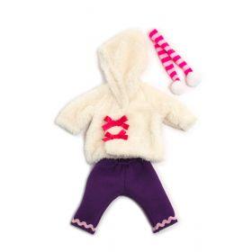 Miniland Clothing White run winter set, 32 cm