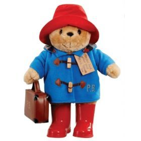 Paddington With Boots Embroidered Coat & Suitcase Large