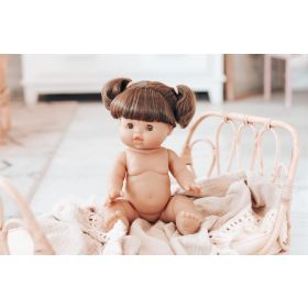 Paola Reina Gordis Brunette Doll With Brown Eye 34Cm- Jennifer