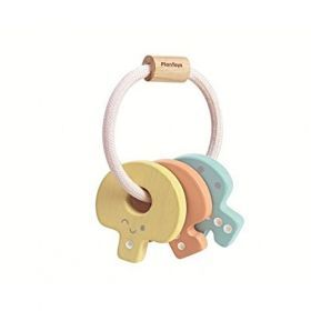 PlanToys - Key Rattle - Pastel