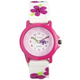 Kiddus Watch - Water Resistant - Flower Watch