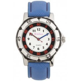 Kiddus Watch - Water Resistant - Traditional - Red