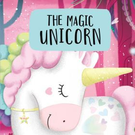 Sassi Book & Giant Puzzle - The Magic Unicorn 30 pcs