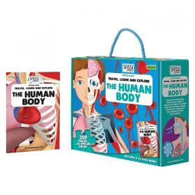The Human Body Puzzle & Book Discovery Set