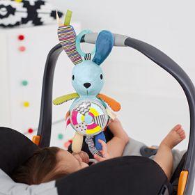 Skip Hop Vibrant Village Spinner Activity Bunny Toy