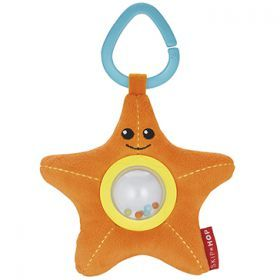Skip Hop Starfish Ocean Pals Stroller Toy