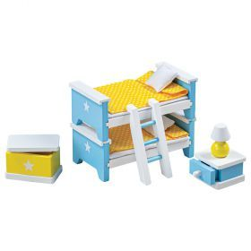 Dolls House Children's Bedroom Furniture