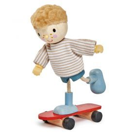 Skateboarding Edward with Flexible Limbs