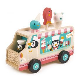 Penguins Ice Cream Van