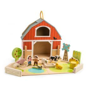 Tender Leaf Little Barnyard Farm Set