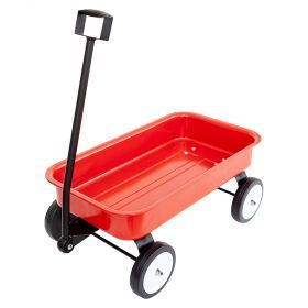 Little red stow & go wagon