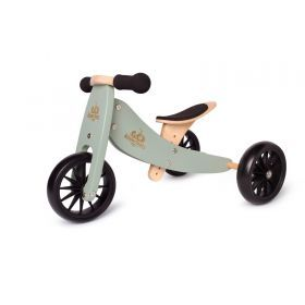 Blue Kinderfeets Tiny Tot trike and balance bike - 2 in 1