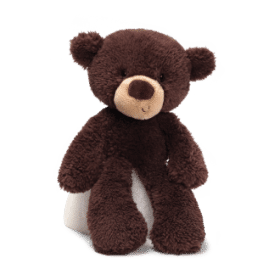 Gund Bear Fuzzy Chocolate Small