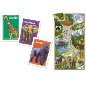 Match up Zoo Animals Game