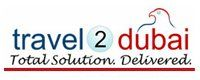 travel2dubai Logo