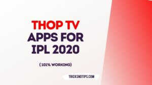 Thop Tv Apps for IPL 2020
