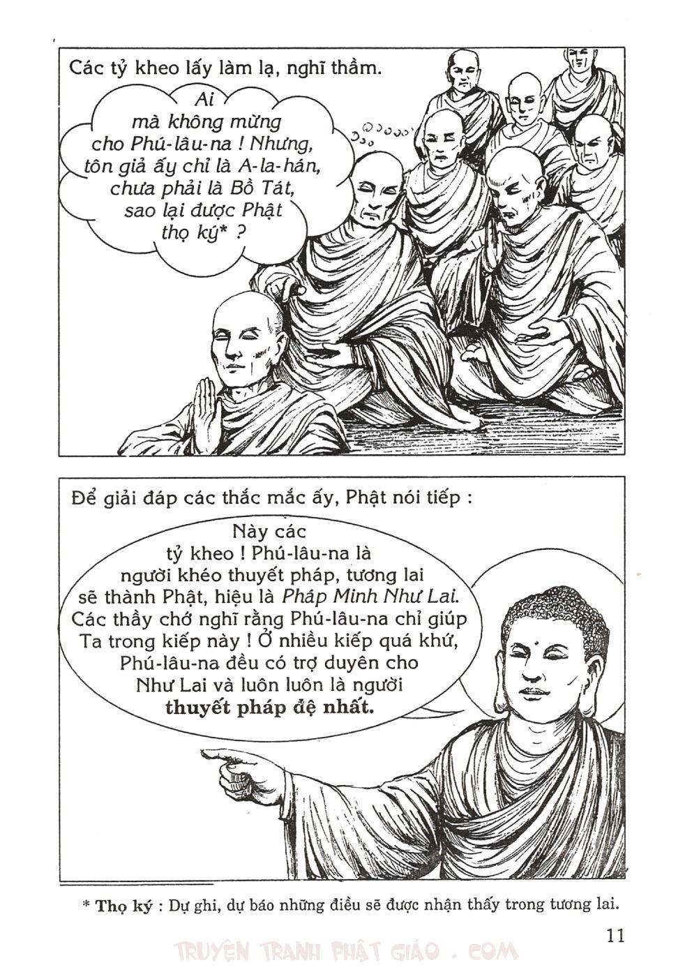 Thập Đại Đệ Tử - Phú Lâu Na