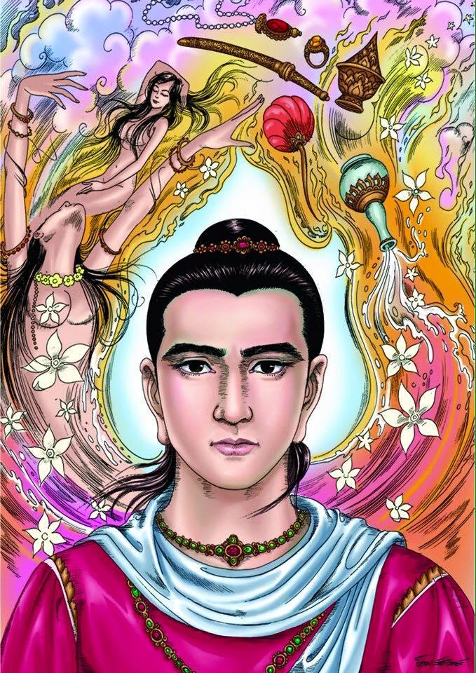 Lược sử Đức Phật - 63 tranh - Thái Lan