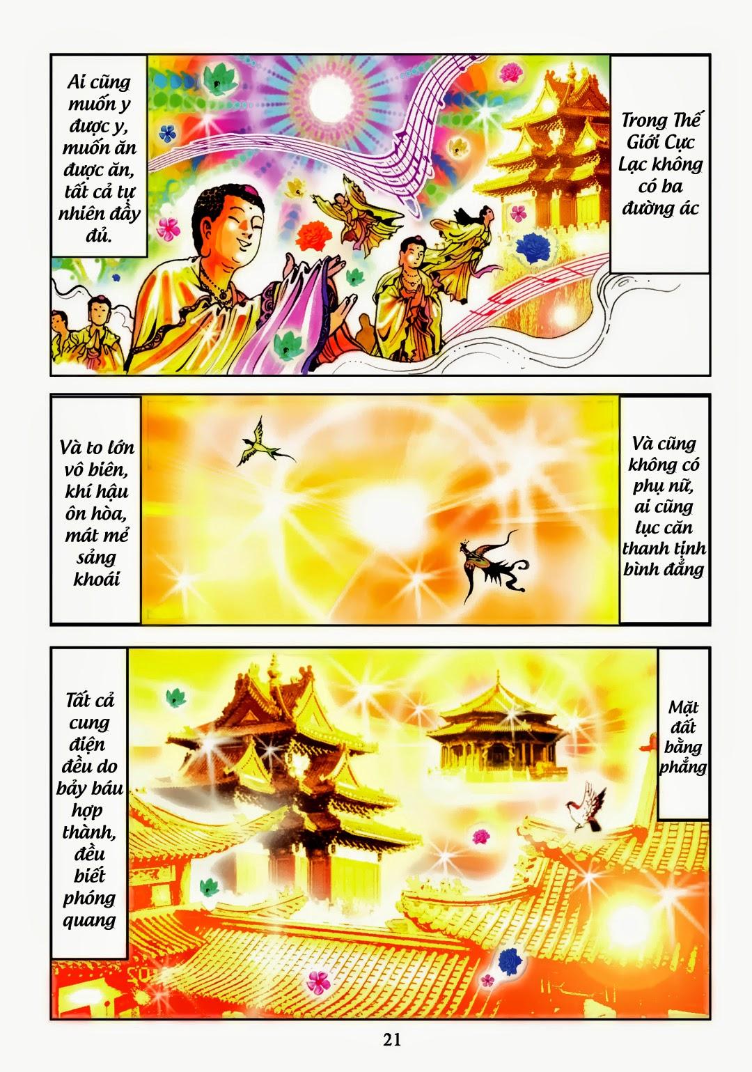 Truyện Tranh A Di Đà Phật