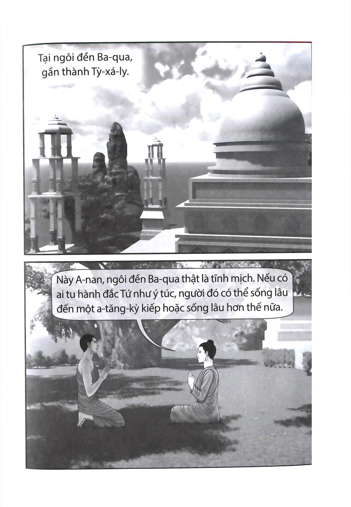 Truyện Tranh Đức Phật Thích Ca - Từ Hành Đạo Đến Nhập Niết Bàn - Tập 3