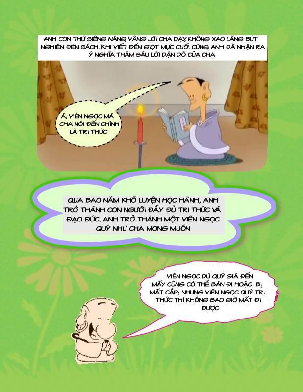 Bài Học Đạo Lý