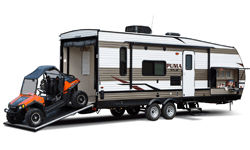Travel Trailer Toy Hauler | Travelcamp