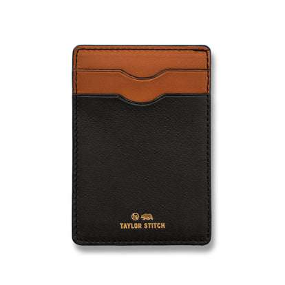 The Minimalist Wallet in Black