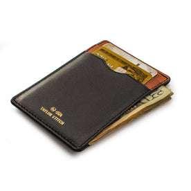 The Minimalist Wallet in Black: Alternate Image 2