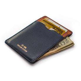 The Minimalist Wallet in Navy: Alternate Image 1