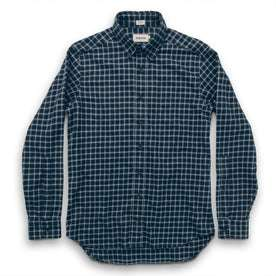 The Jack in Brushed Navy Plaid Flannel: Alternate Image 6