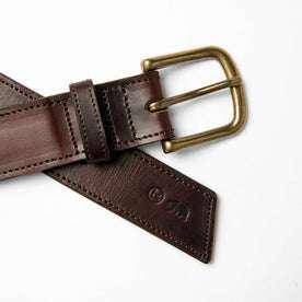 The Stitched Belt in Espresso: Alternate Image 1