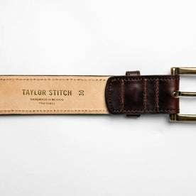 The Stitched Belt in Espresso: Alternate Image 3