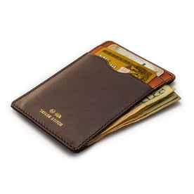 The Minimalist Wallet in Brown: Alternate Image 2