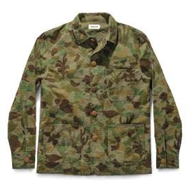 The Ojai Jacket in Arid Camo Dry Wax: Featured Image