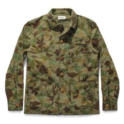 The Ojai Jacket in Arid Camo Dry Wax